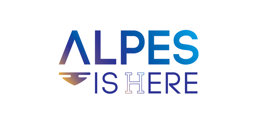 Logo Alpes Is Here