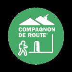 Logo Compagnon de route. Site Partenaire pour l'organisation de randonnées