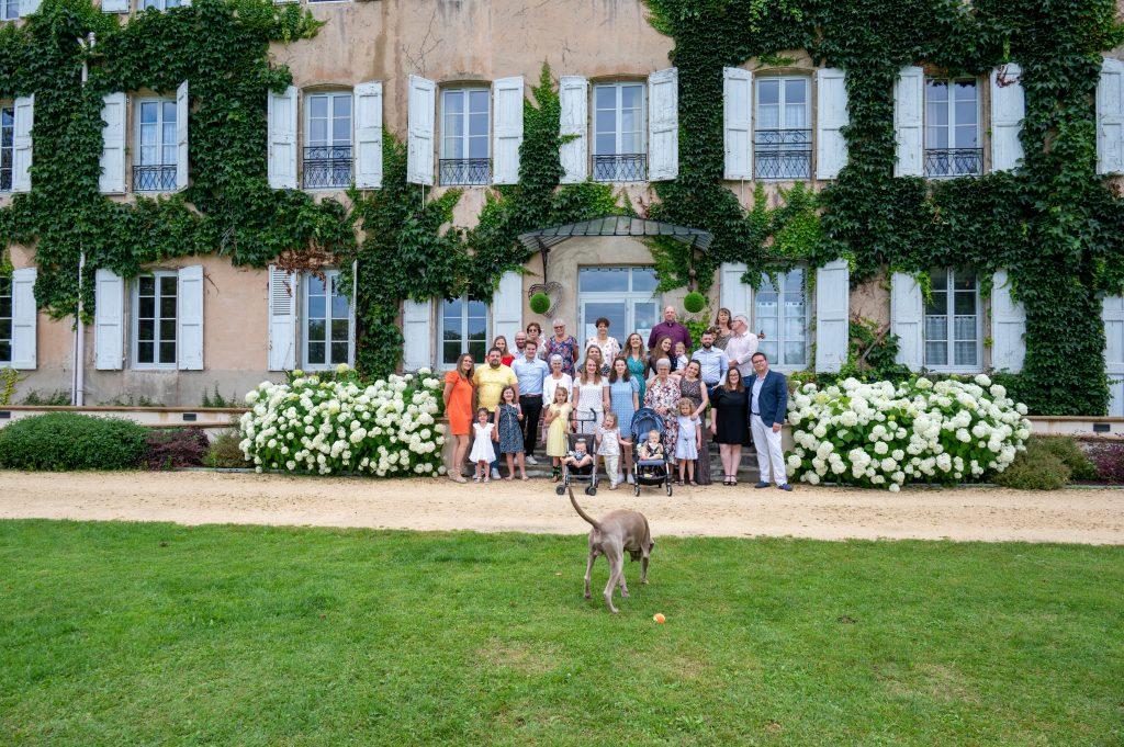 Anniversaire au Château de Césarges