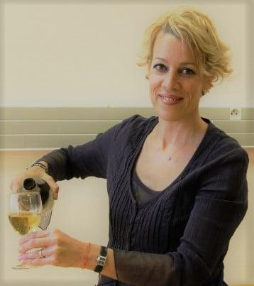 Claire Maudoux Sommelière, soirée dégustation Vins et Fromages au Château de Césarges