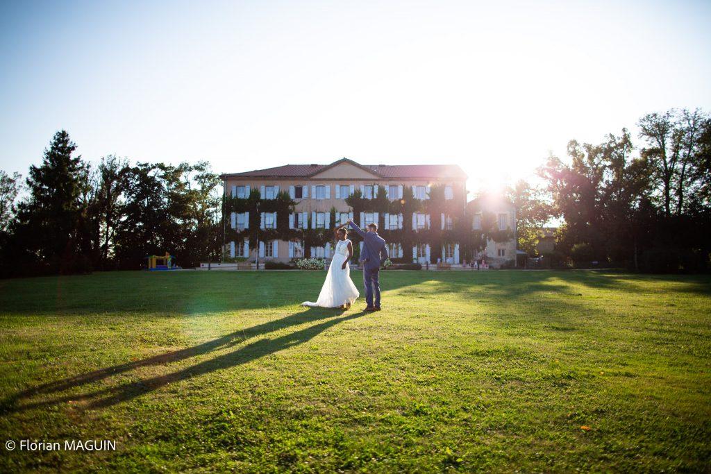 Mariage au Château de Césarges